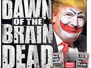 Daily News slams Trump on new cover