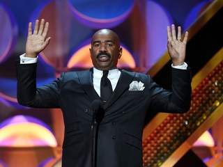 Steve Harvey responds to Oscars award mixup