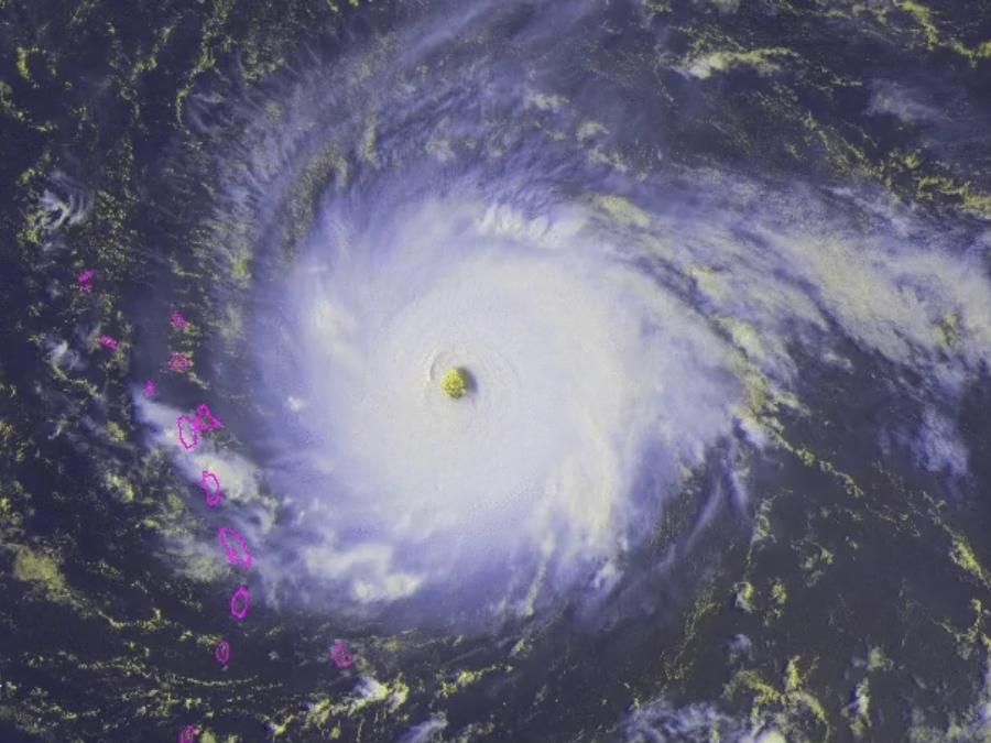 Hurricane Irma is a Category 5 headed to the U-S-
