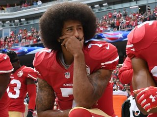 Colin Kaepernick awarded for protest