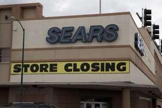 Sears declares bankruptcy
