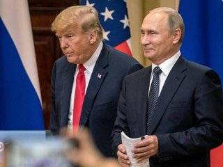 Trump says 'Putin was 'very, very strong'